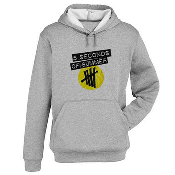 5 sos logo Hoodie Sweatshirt Sweater Shirt Gray and beauty variant color for Unisex size