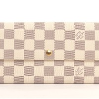 LOUIS VUITTON Damier Azur Sarah Wallet - Louis Vuitton - Brands | Portero Luxury