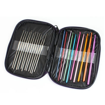 22 Piece Crochet Hook Set with Case + FREE SHIPPING!