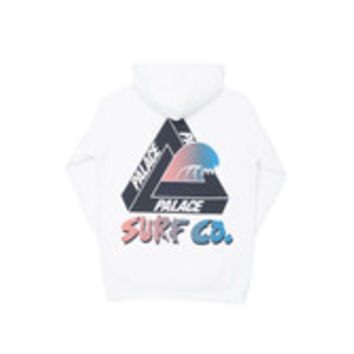 SURF CO HOOD WHITE | Palace Skateboards USA