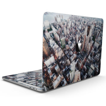 Vintage Aerial Cityscape - MacBook Pro with Touch Bar Skin Kit