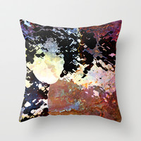 LADY-SILEX-7 Throw Pillow by Pia Schneider [atelier COLOUR-VISION]