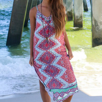 Dawn Glow Multi-Color Maxi Dress