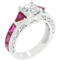 Ruby Red Regal Ring