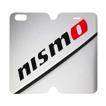 NISMO NISSAN Wallet Case for iPhone 4/4S 5/5S/SE 5C 6/6S Plus Samsung Galaxy S4 S5 S6 Edge Note 3 4 5