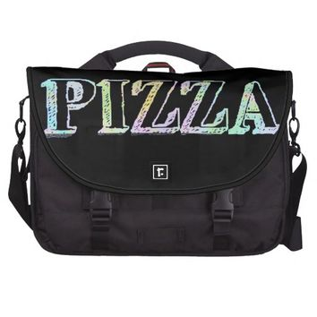 Pizza Commuter Laptop Bag
