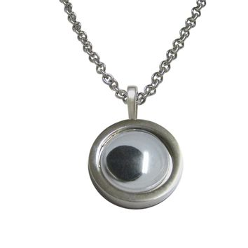 Googly Eye Pendant Necklace