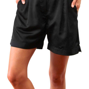 Flared Short - Noir