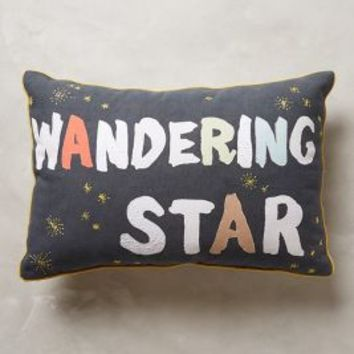Wandering Star Pillow by Anthropologie Multi 24 X 16 Pillows