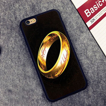 LORD OF THE RINGS Printed Soft Rubber Mobile Phone Case OEM For iPhone 6 6S Plus 7 7 Plus 5 5S 5C SE 4 4S Back Cover Shell