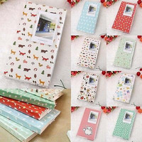 84 Pockets 1Pcs Mini Film Instax Polaroid Album Photo Storage Case Fashion Home Family Friends Saving Memory Souvenir