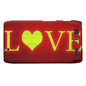 Love Droid RAZR Cover