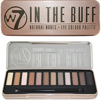 W7 - 'In The Buff' Natural Nudes Eye Colour Eyeshadow Makeup Cosmetic Palette