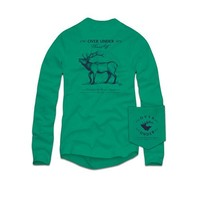 Palmetto Moon | Over Under Sound Off Elk Long Sleeve T-shirt | Palmetto Moon