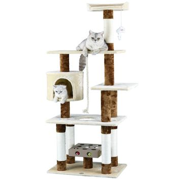 "67"" IQ Box Cat Tree"
