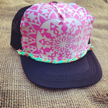 Little Sweetheart Trucker Hat by Roupoli