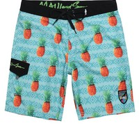 Maui & Sons Locals Only Boardshorts - Mens Board Shorts - Blue