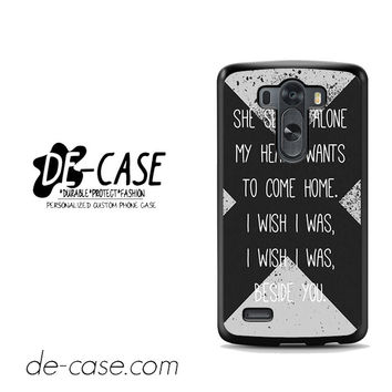 5 Sos Seconds Of Summer Lyrics For LG G3 Case Phone Case Gift Present