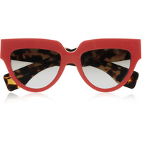 Prada - Cat eye acetate sunglasses