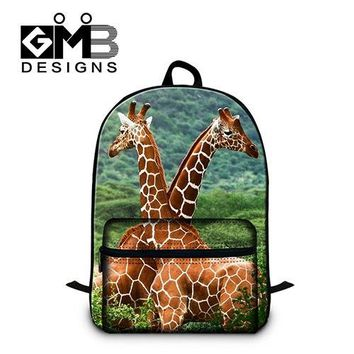 University College Backpack Giraffes Scool s for Teen Girls Fashion Lightweight Laptop s for Youth  Bookbags Schoolbags Boys MochilaAT_63_4