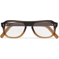 Cutler and Gross Square-Frame Ombre Acetate Optical Glasses | MR PORTER