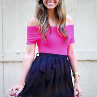 The Softest Top: Neon Pink   Hope's