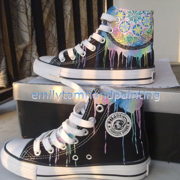 8f89d7a931a988 Dreamcatcher Converse Sneakers-Custom Shoes Hand Painted High Top
