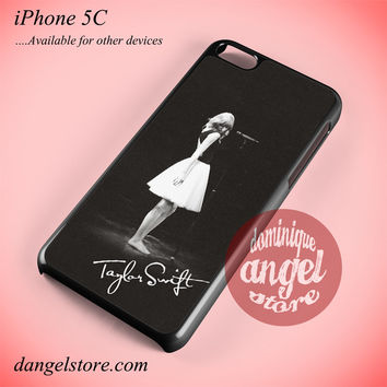 Taylor Swift On Stage Phone case for iPhone 5C and another iPhone devices