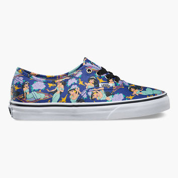 VANS Disney Jasmine Authentic Womens Shoes | Sneakers