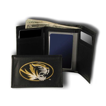 Missouri Tigers NCAA Embroidered Trifold Wallet