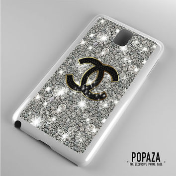 Chanel Glitter Sparkly art Samsung Galaxy Note 3 Case