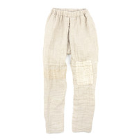[Center for COSMIC WONDER Online Store] Double-ply linen pants