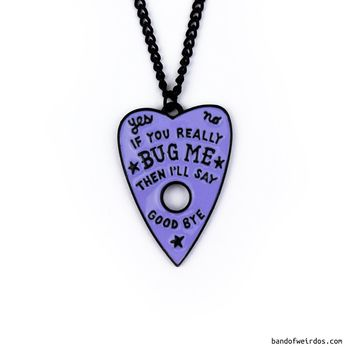 IF YOU REALLY BUG ME // LILAC // NECKLACE