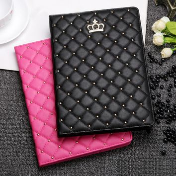 Crown Leather Case for iPad