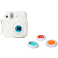 Top Quality Colorful Filter 4 Colors Magic Lens For Fujifilm Instax Mini 8 7s Cameras JAN 27