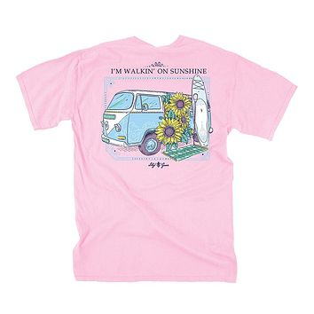 Walkin' On Sunshine Tee in Blossom by Lily Grace