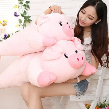Kawaii Pig Plush Toys For Children Doll Pink Brinquedos Kawaii Stuff Pillow Funny Pluche Piggy Stuffed Animal Toy 70C0587