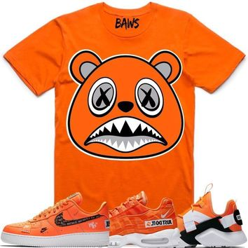 ORANGE BAWS Sneaker Tees Shirt - Nike Air Just Do It