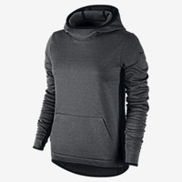 The Nike All-Time Tech Pullover Women's Training Hoodie.