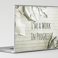 I'm A Work In Progress Laptop & iPad Skin by Charlene McCoy | Society6