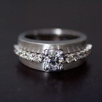 Custom Made Engagement Ring, Process,  Conflict Free Diamonds