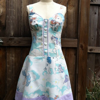 My Little Pony Pin Up Dress- OOAK Recycled