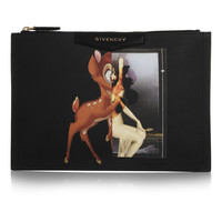 Givenchy - Antigona pouch in printed coated-canvas