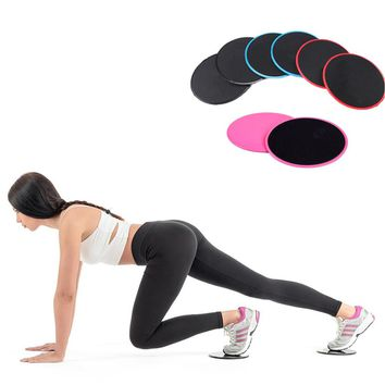 Yoga Slide Gliding Fitness Disc Circle Tranning Slider Body Building Excercise Sliding Plates Sport Shaping Tools  2pcs/4pcs