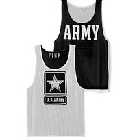 Army Mesh Tank Jersey - PINK - Victoria's Secret