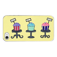 Cupcake Iphone case for Iphone 4 and 4s life is by RetroLoveCases