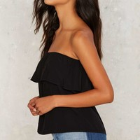 Private Practice Strapless Top - Black