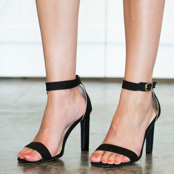 Simply Chic Heels - Black