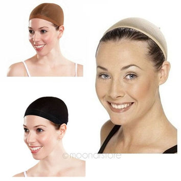 Stretchable Wig Hair Control Net Cap Mesh Stocking for Fancy Party Costume Dress = 1958069892