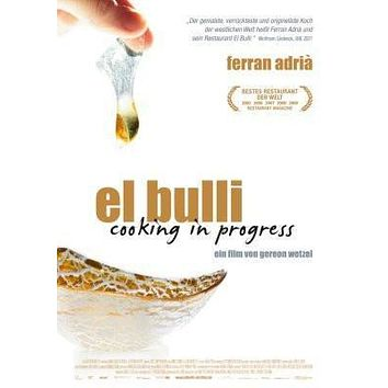 El Bulli Cooking In Progress German Movie poster Metal Sign Wall Art 8in x 12in